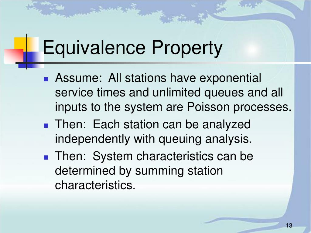 Equivalence Property