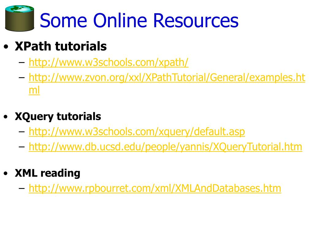Some Online Resources