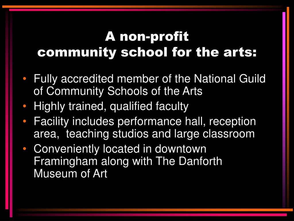 A non-profit