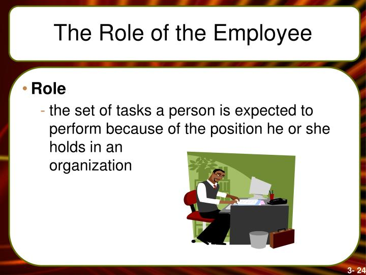 The Role of the Employee