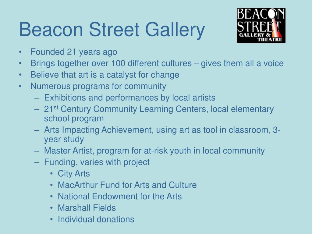 Beacon Street Gallery