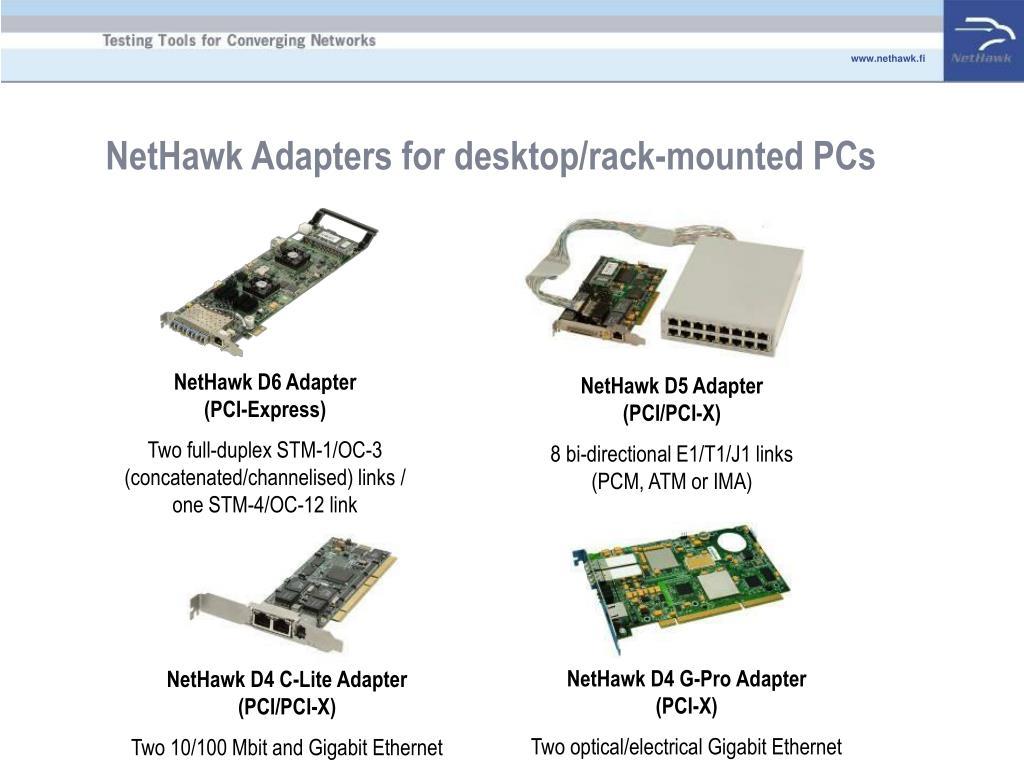 NetHawk D6 Adapter            (PCI-Express)