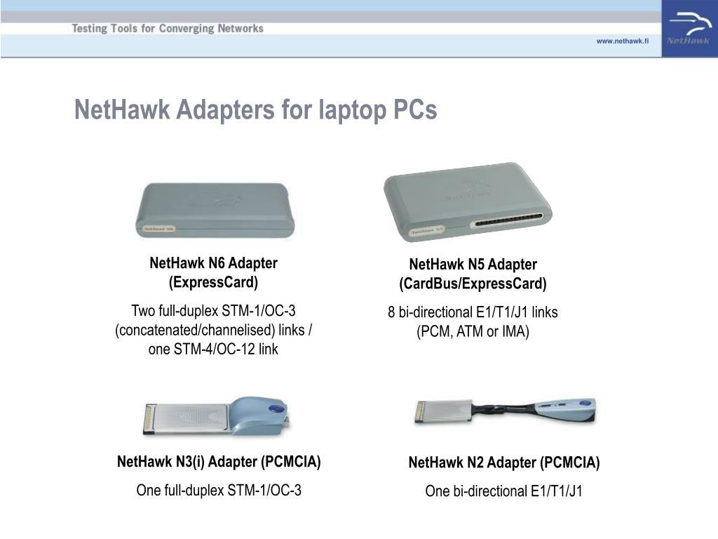 NetHawk N5 Adapter (CardBus/ExpressCard)