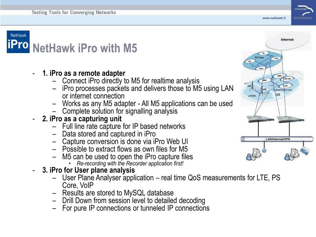 NetHawk iPro with M5