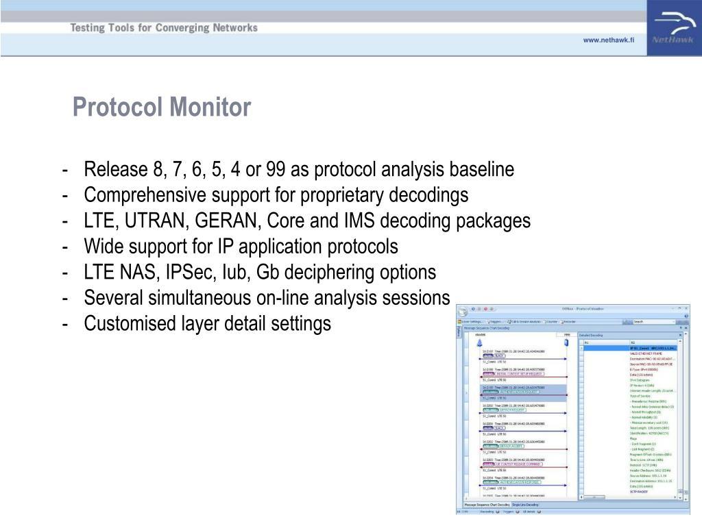 Protocol Monitor