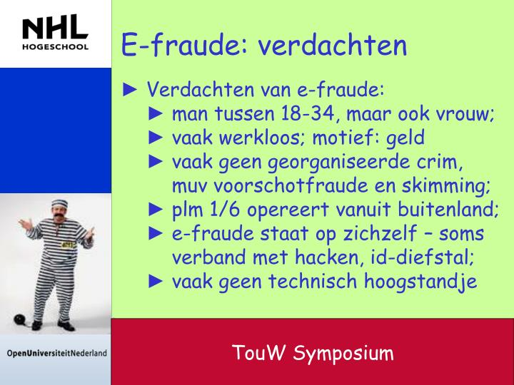 E-fraude: verdachten