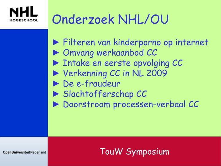 Onderzoek NHL/OU