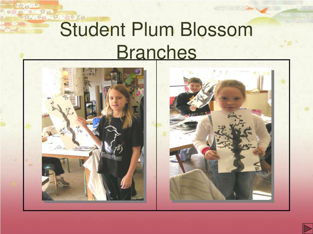 Student Plum Blossom Branches