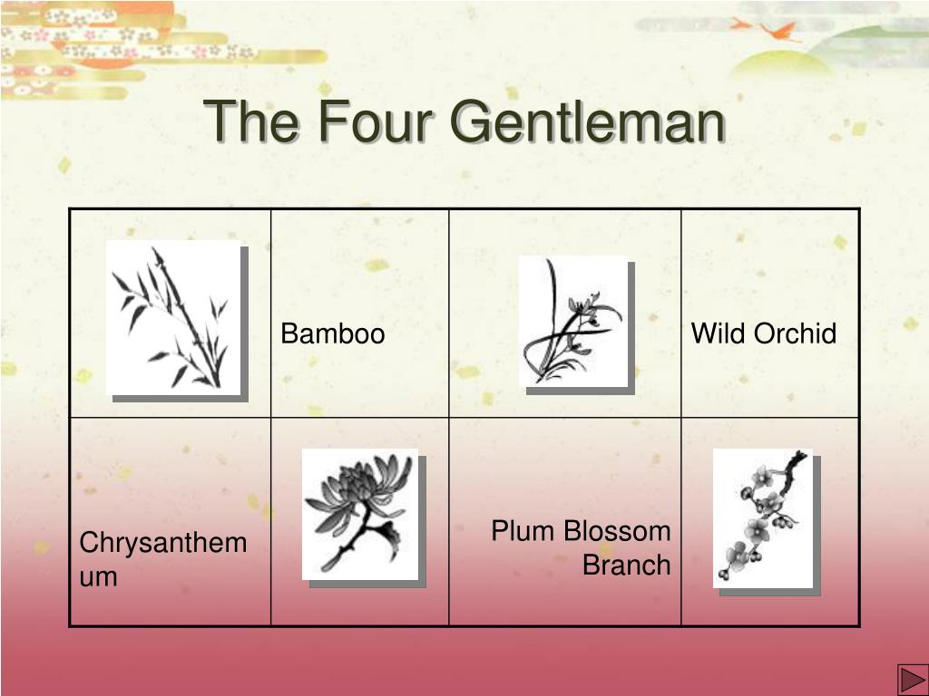 The Four Gentleman