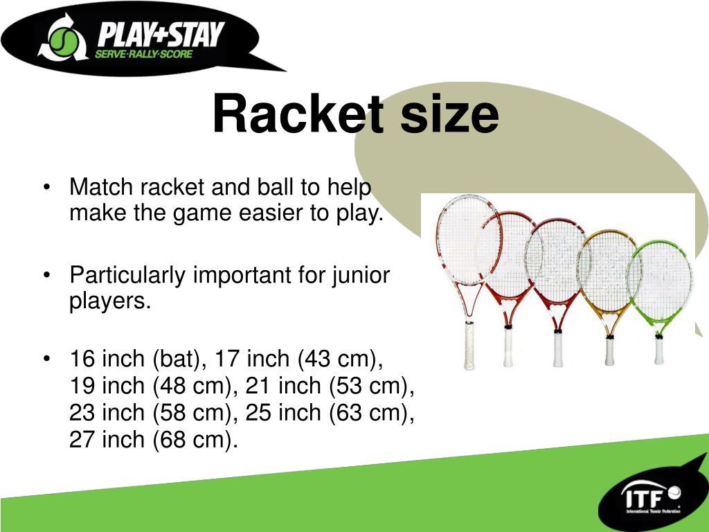 Racket size
