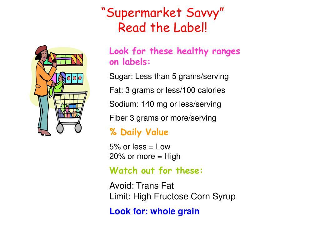 """Supermarket Savvy"""