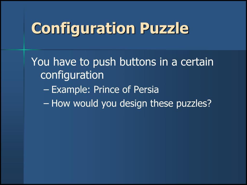 Configuration Puzzle