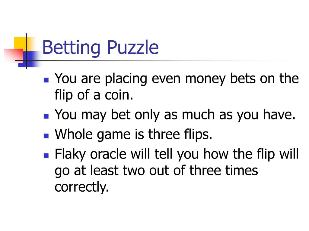 Betting Puzzle