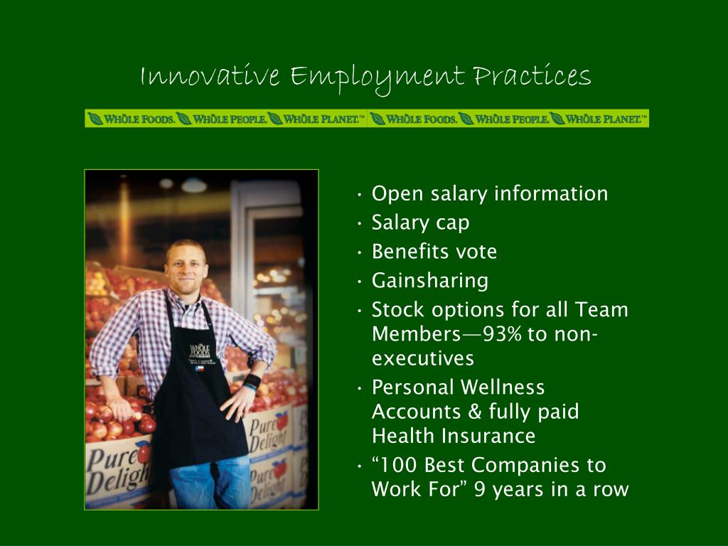 Innovative Employment Practices