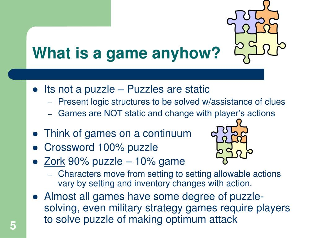 What is a game anyhow?