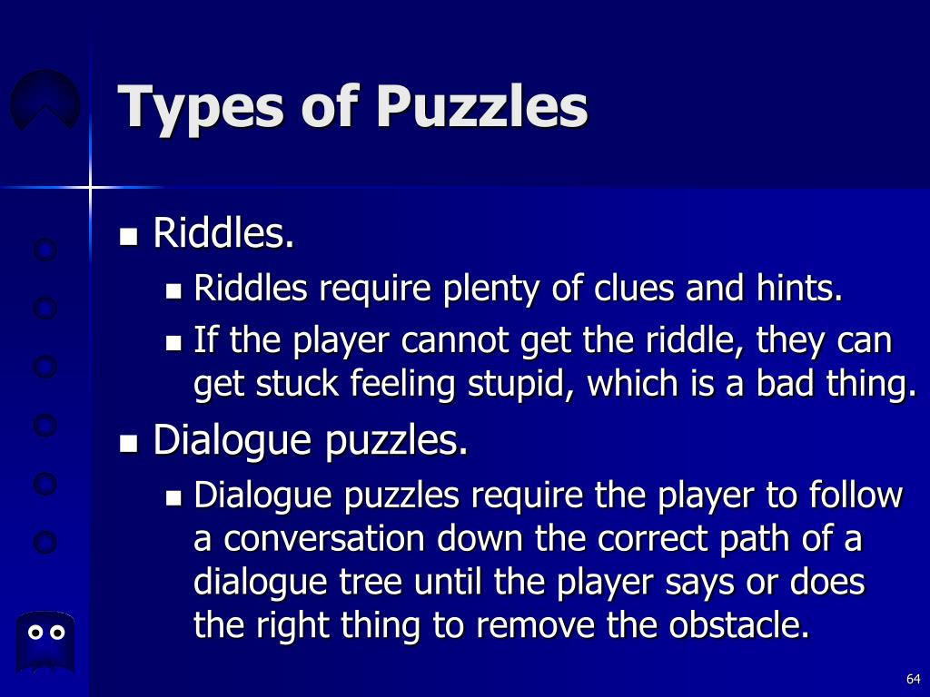 Types of Puzzles