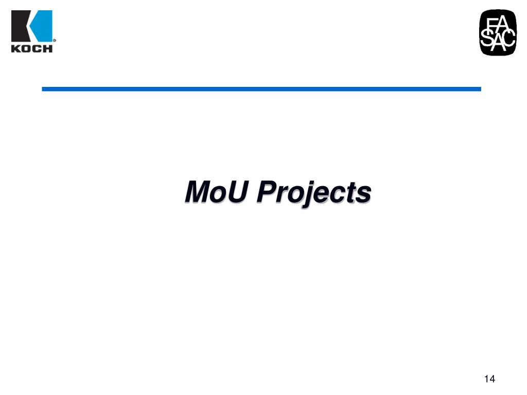 MoU Projects