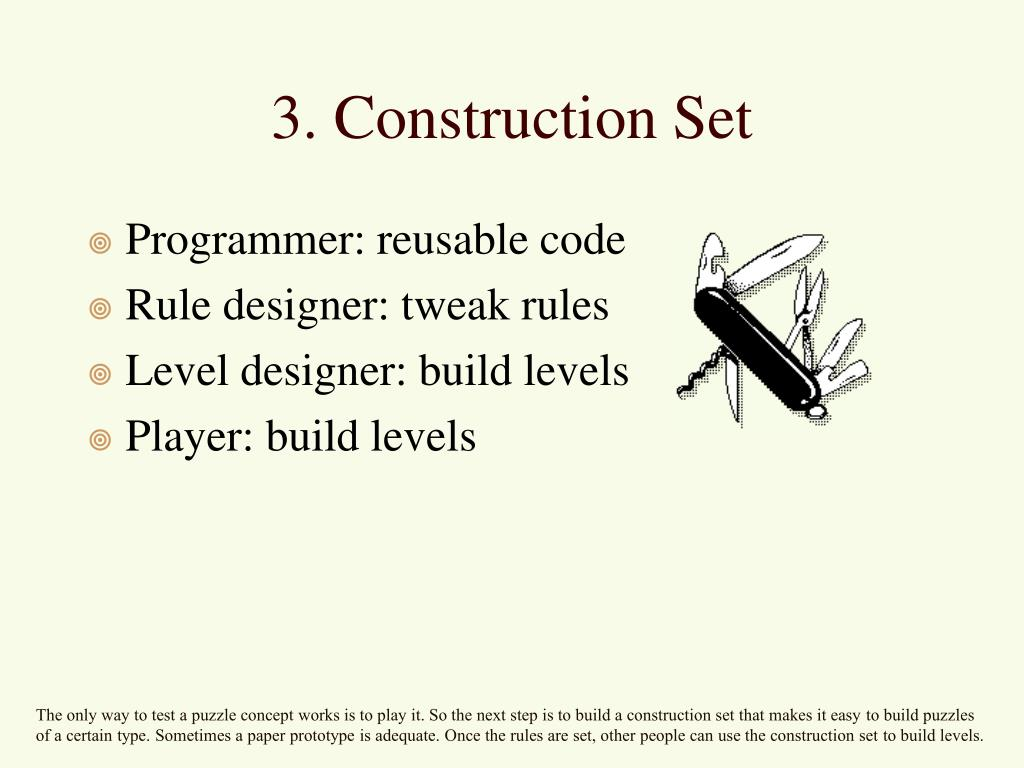 Programmer: reusable code