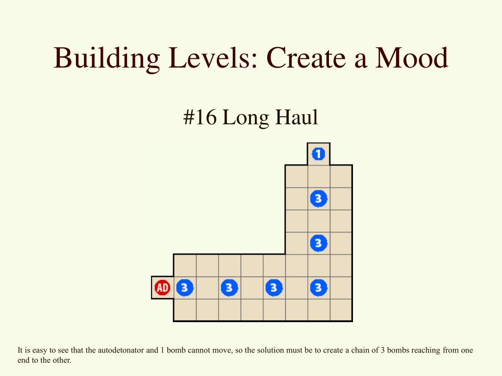 Building Levels: Create a Mood