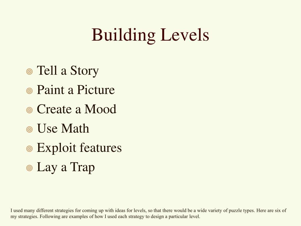Building Levels