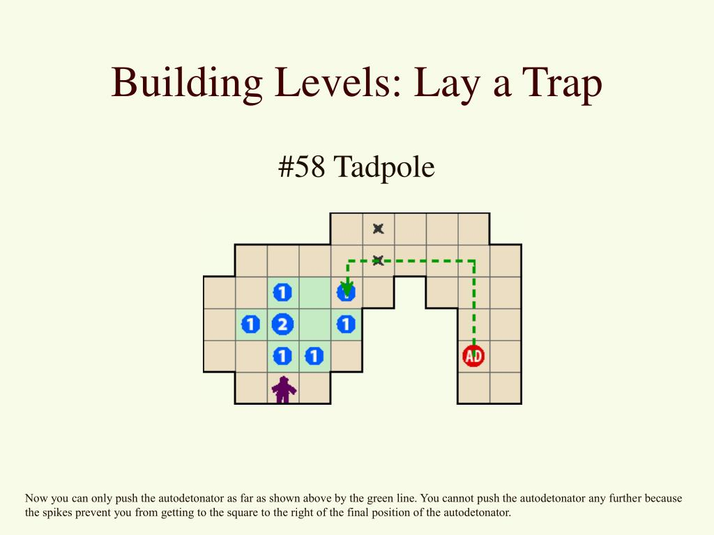 Building Levels: Lay a Trap