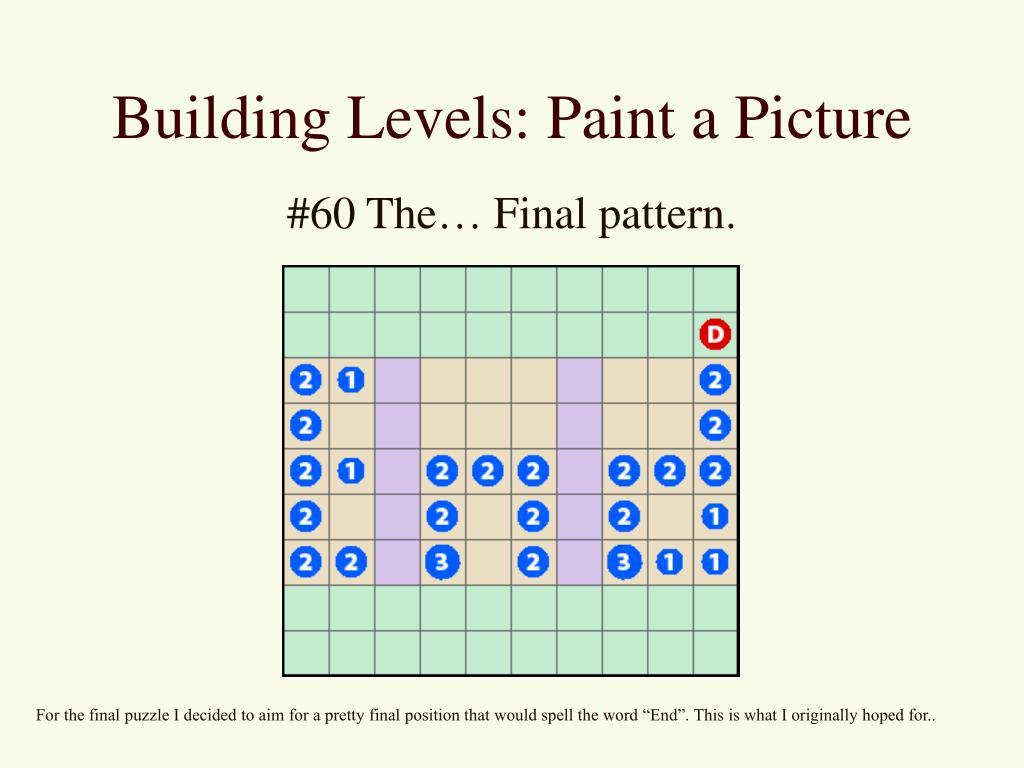 Building Levels: Paint a Picture