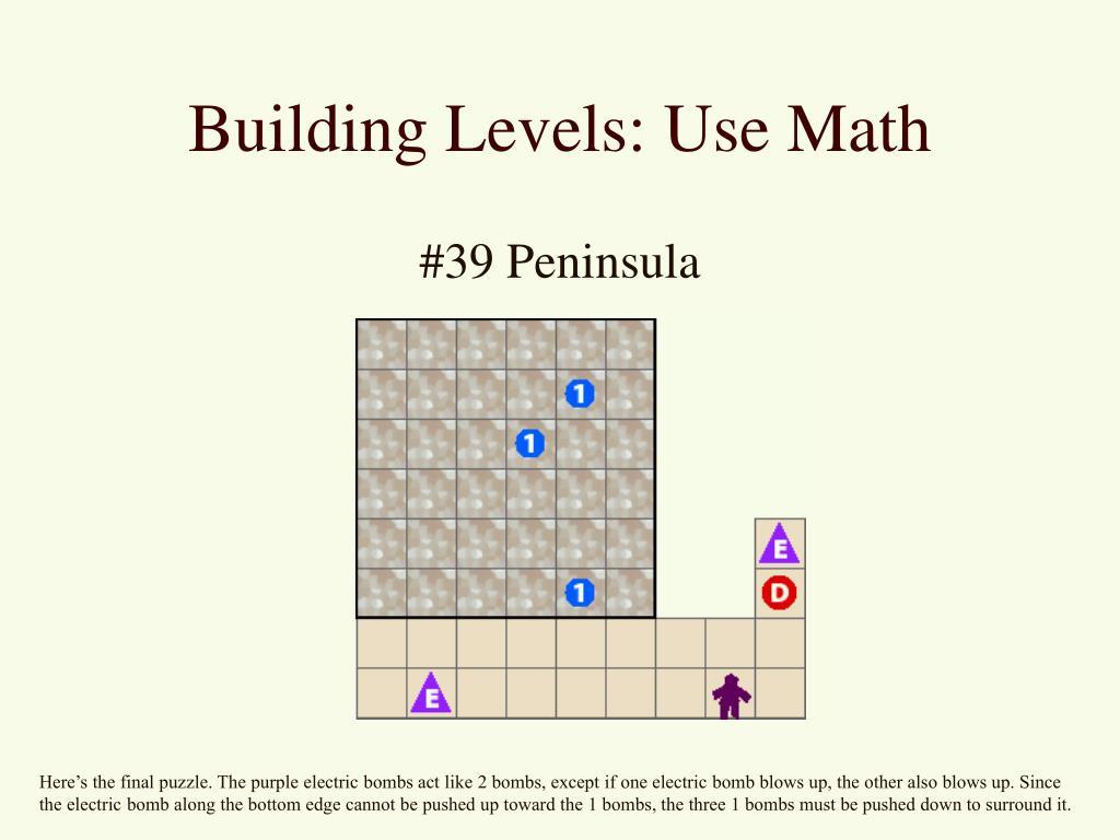 Building Levels: Use Math