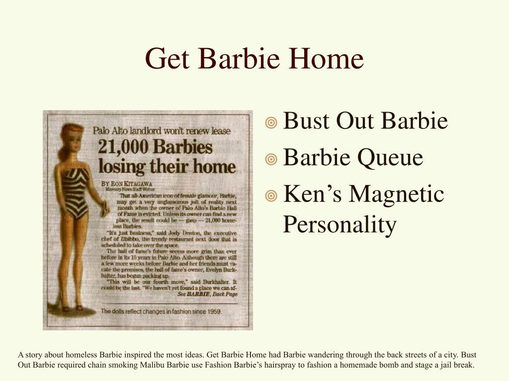 Get Barbie Home
