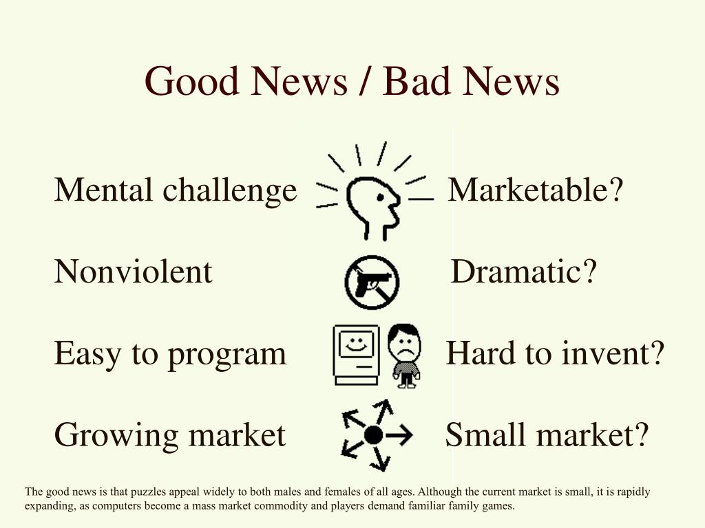 Good News / Bad News