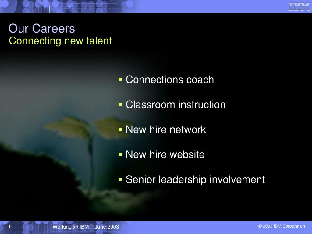 Our Careers