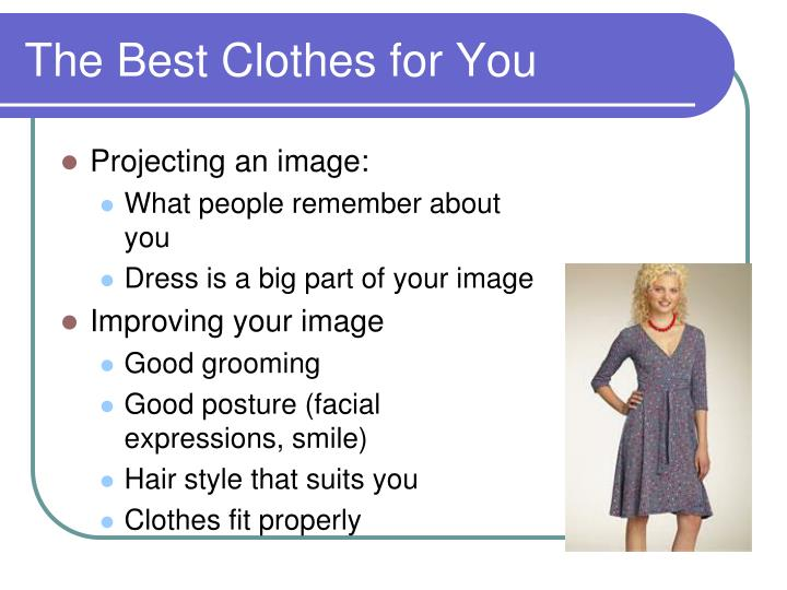 The best clothes for you