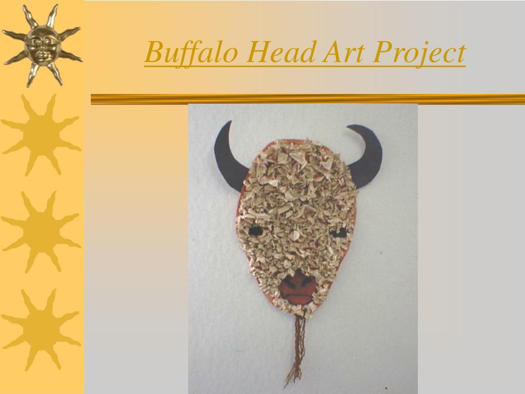 Buffalo Head Art Project