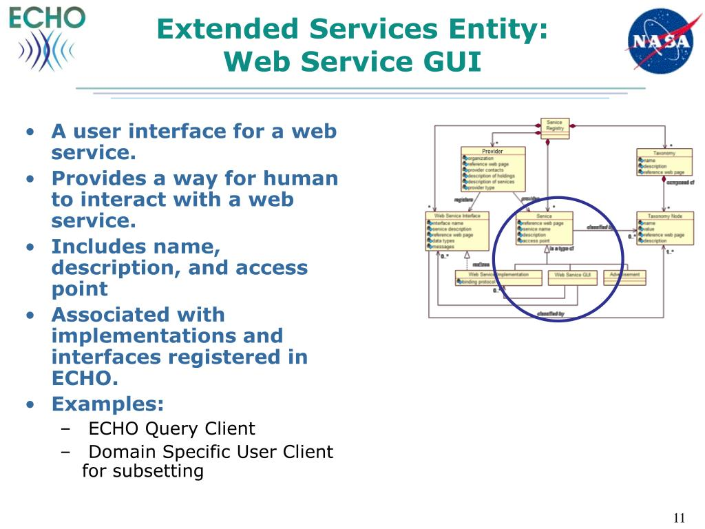 Extended Services Entity: