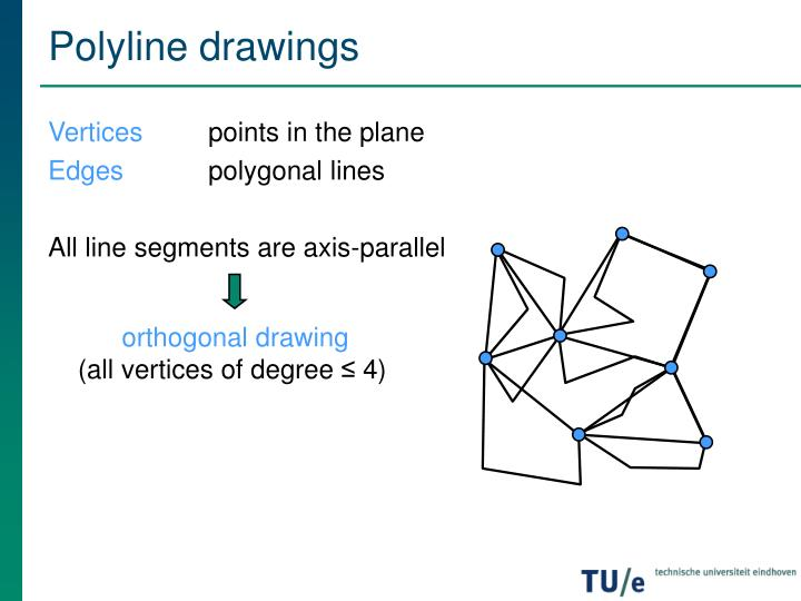 Polyline drawings
