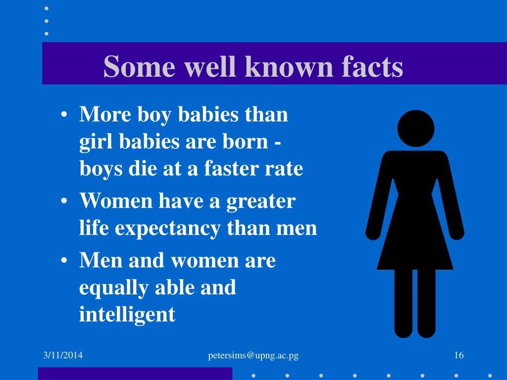 Some well known facts
