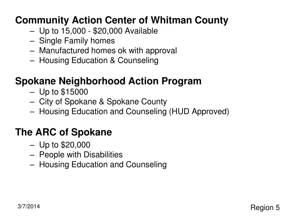 Community Action Center of Whitman County