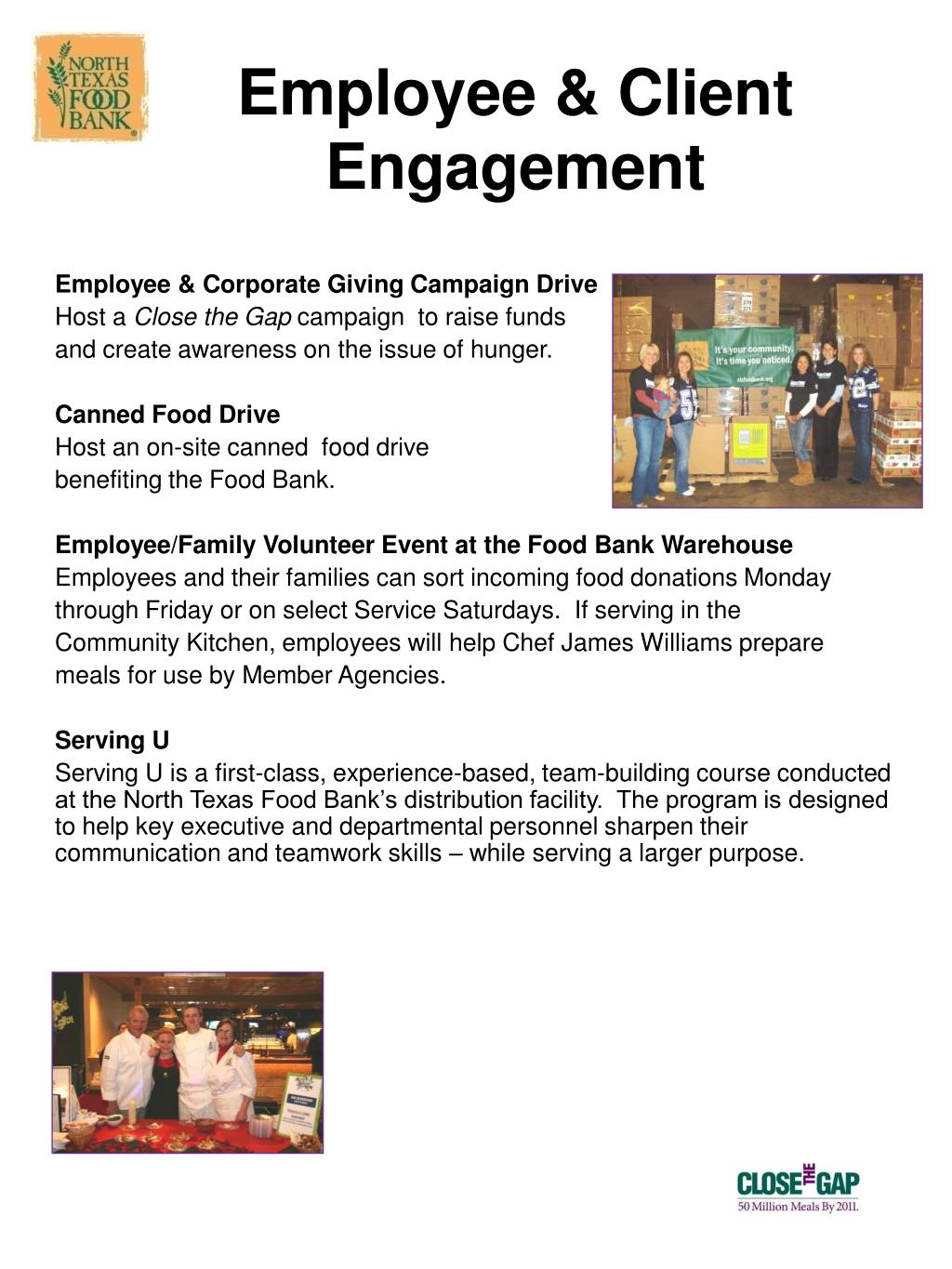 Employee & Client Engagement