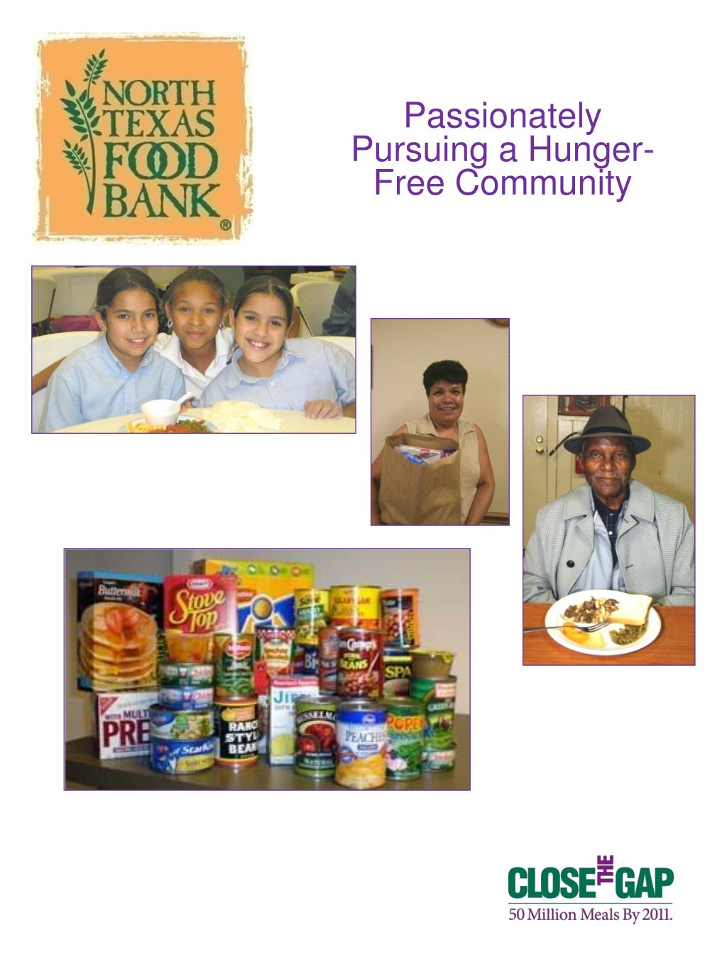 Passionately Pursuing a Hunger-Free Community