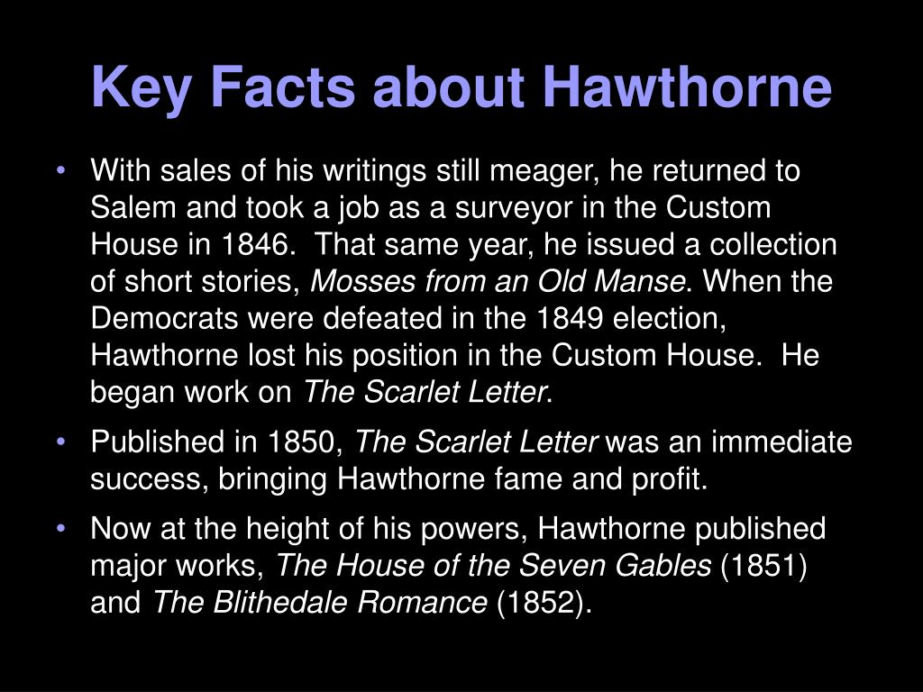 Key Facts about Hawthorne