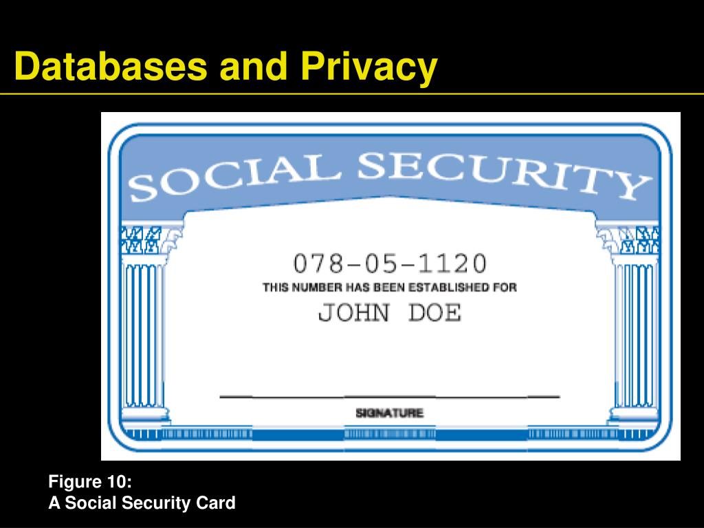 Databases and Privacy