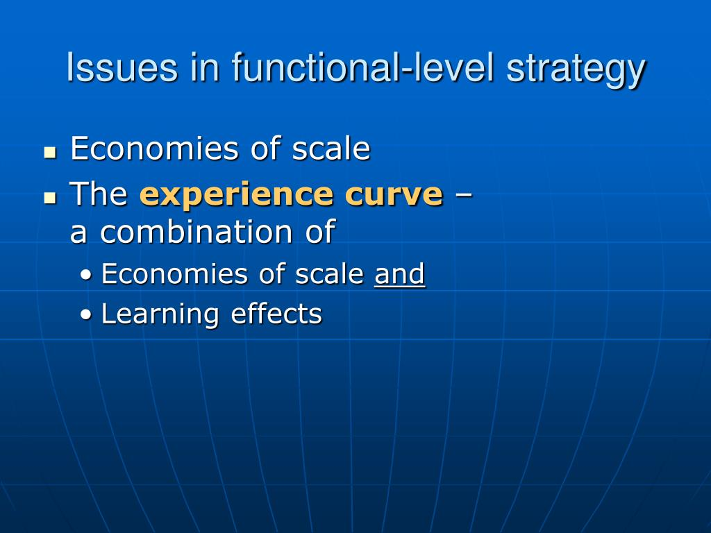 functional level strategy for mcdonalds Answer to what is the relationship among corporate, business and functional level strategies and how do they create value to the o.