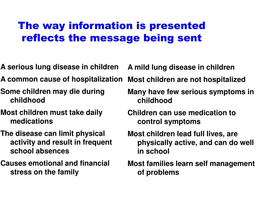 A serious lung disease in children