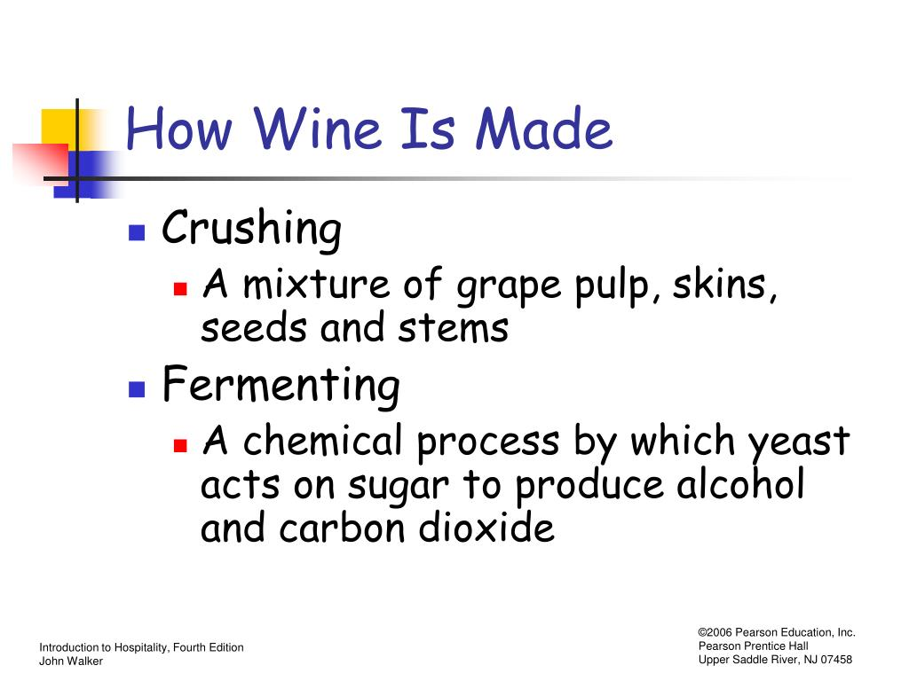How Wine Is Made