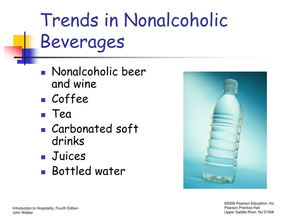 Trends in Nonalcoholic Beverages
