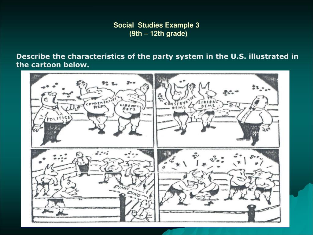 Social  Studies Example 3
