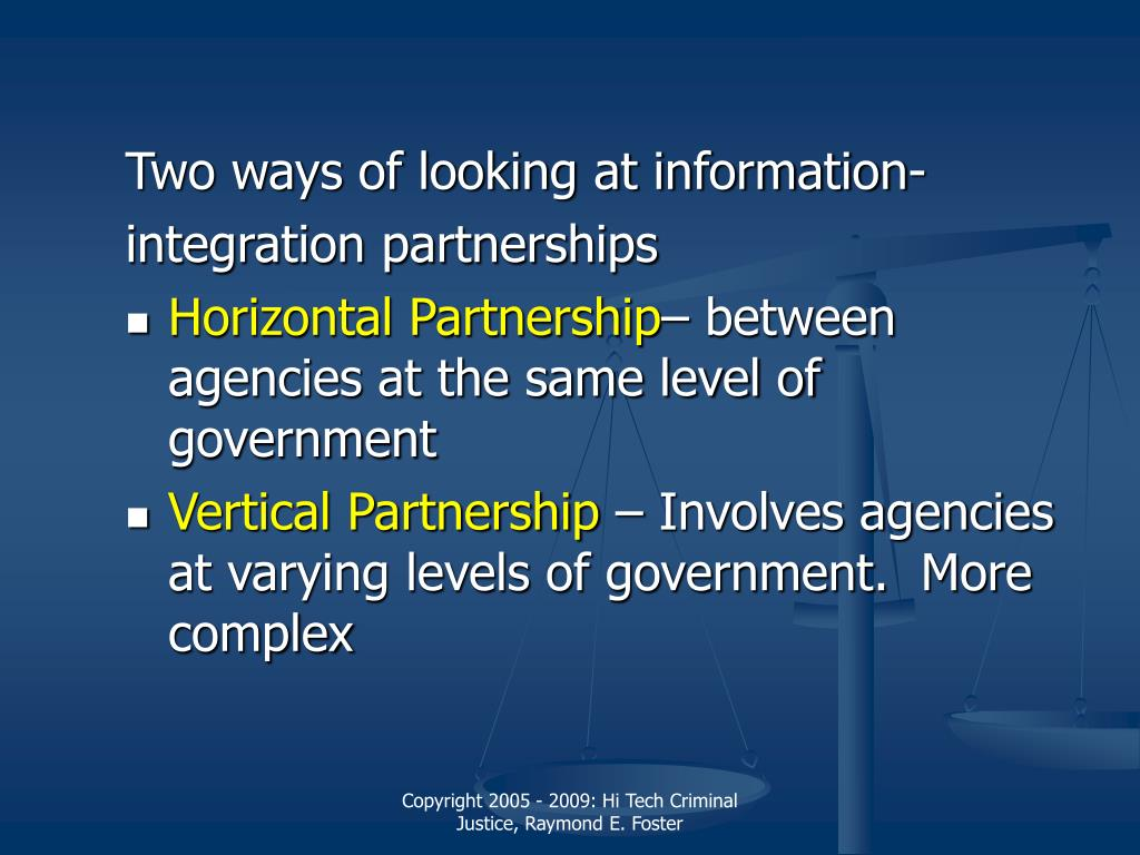 Two ways of looking at information-
