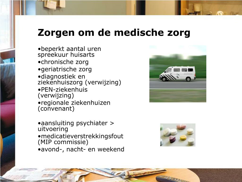 Zorgen om de medische zorg