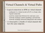 virtual channels virtual paths