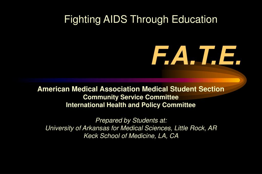Fighting AIDS Through Education