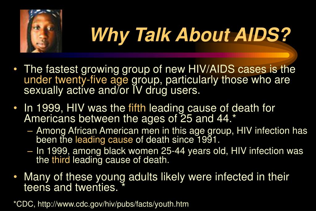 Why Talk About AIDS?
